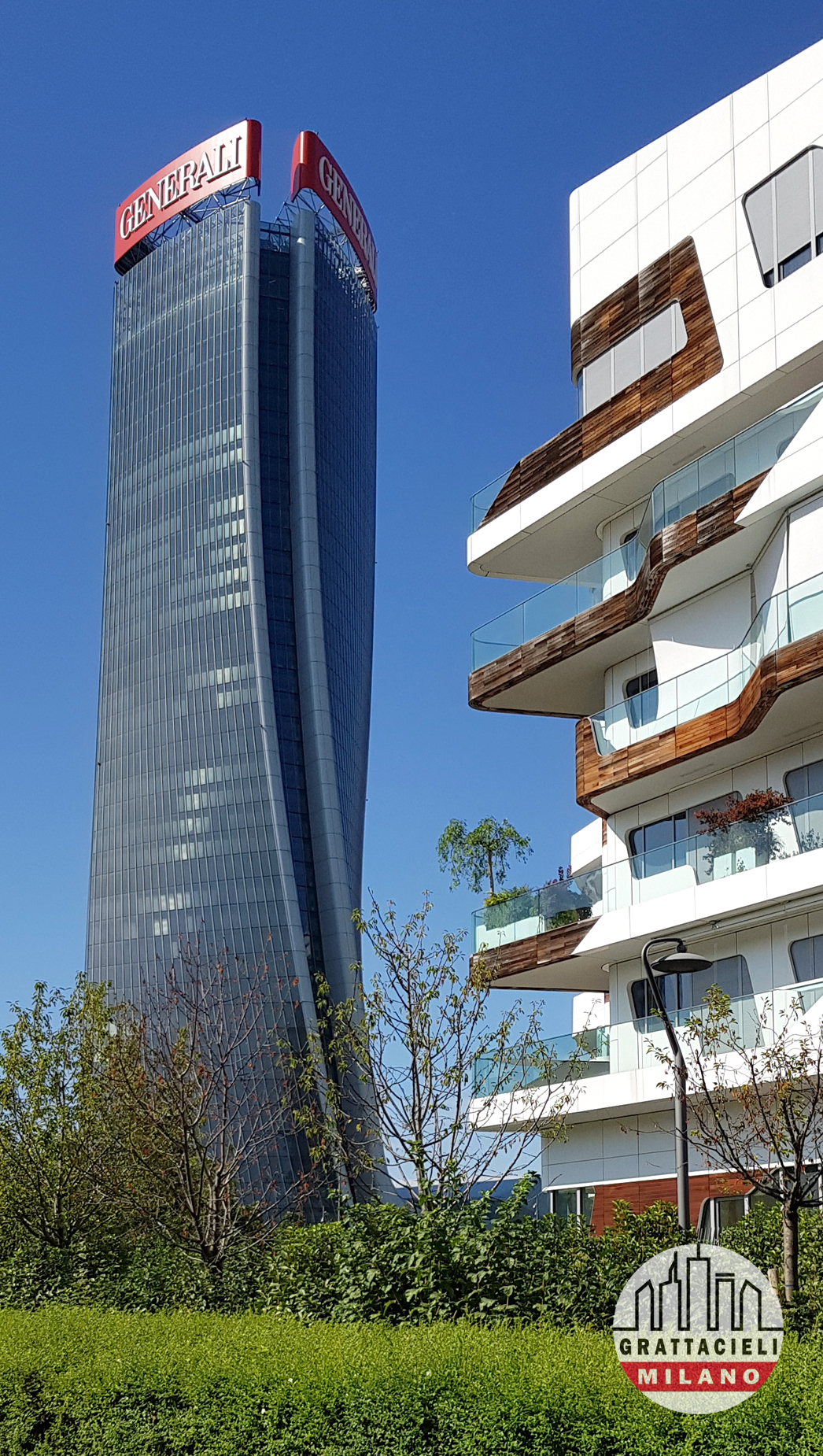 Torre e residenze Hadid. Photo by Demetrio Rizzo