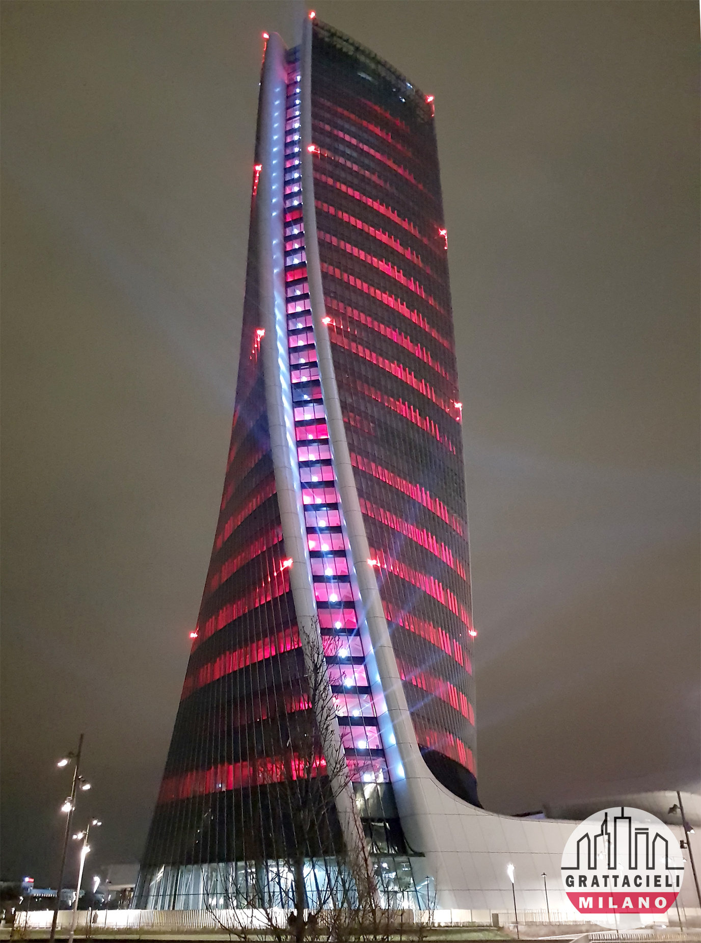 Torre Hadid all'inaugurazione di CityLife Shopping District. Photo by Demetrio Rizzo