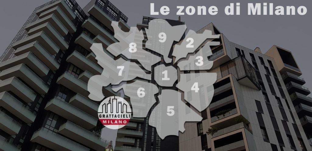 Le 10 Zone di Milano - I grattacieli nei vari Municipi e quartieri