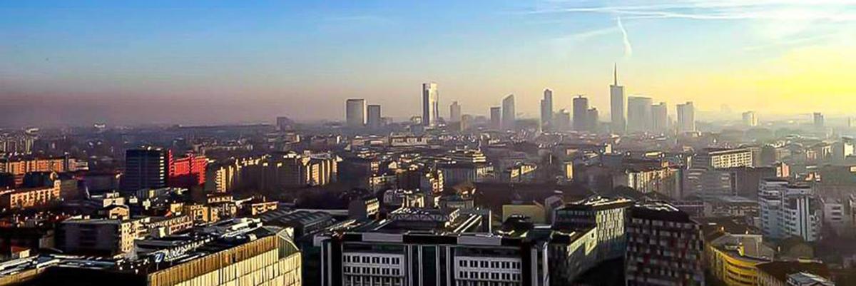 Skyline di Milano, visto da zona Bicocca - © Alessandro Barberio