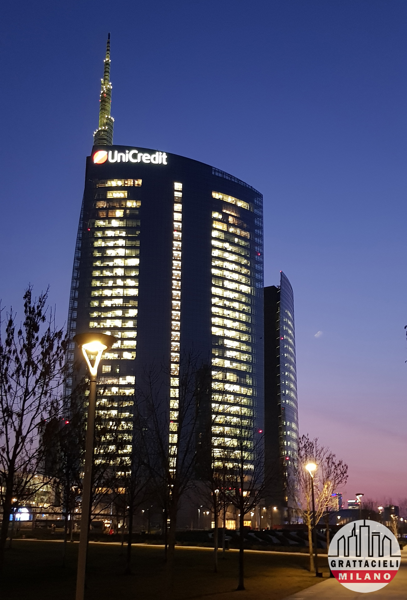 Unicredit Tower Photo ©2019 by Demetrio Rizzo