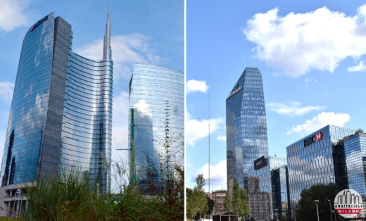 Unicredit Tower & Diamond Tower