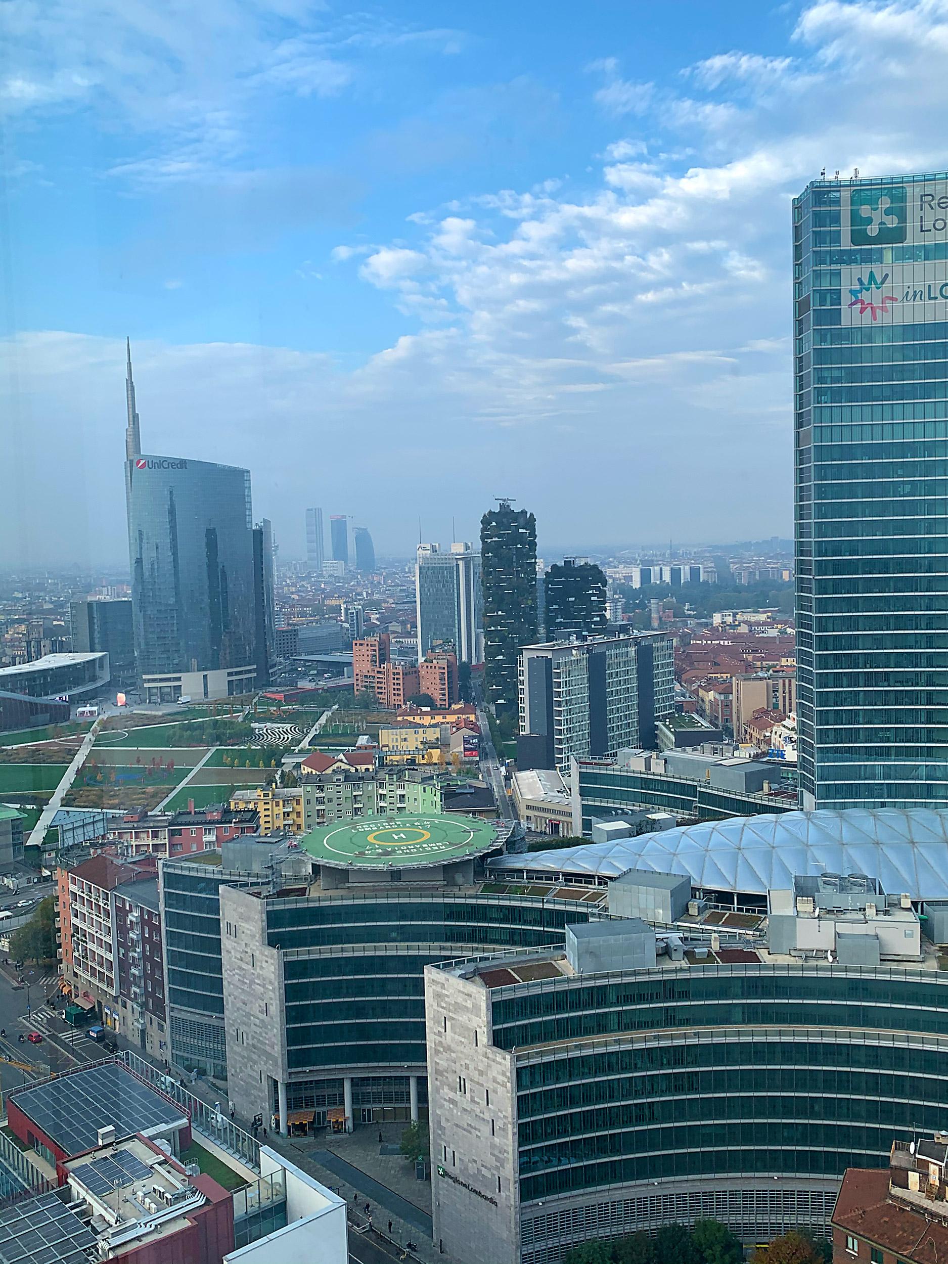 Panoramica dal 29° piano di Torre Galfa. Photo ©2019 by Alex Bonacina