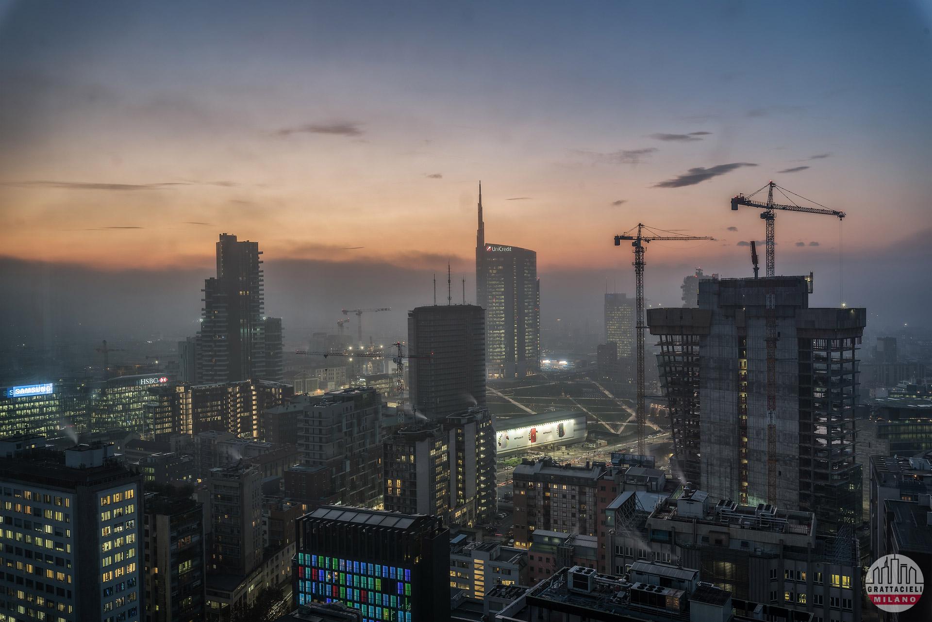 Skyline di Milano, visto dal Grattacielo Pirelli - ©2019 Marco Silvestri