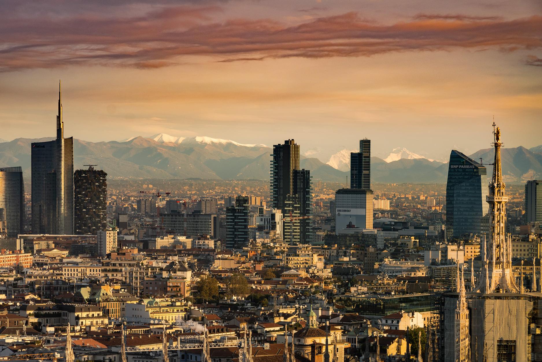 Skyline di Milano, visto da Torre Velasca - ©2019 Alberto Fanelli