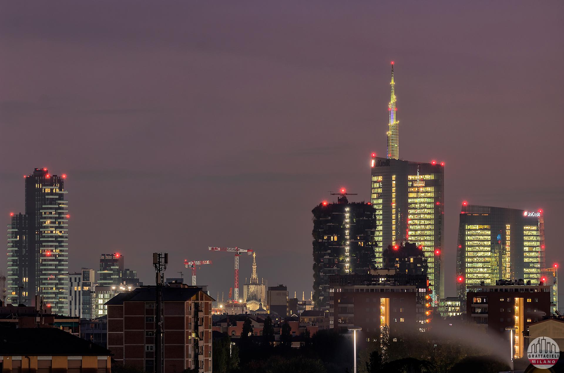 Skyline di Milano, visto da quartiere Isola - ©2019 Yari Bettin