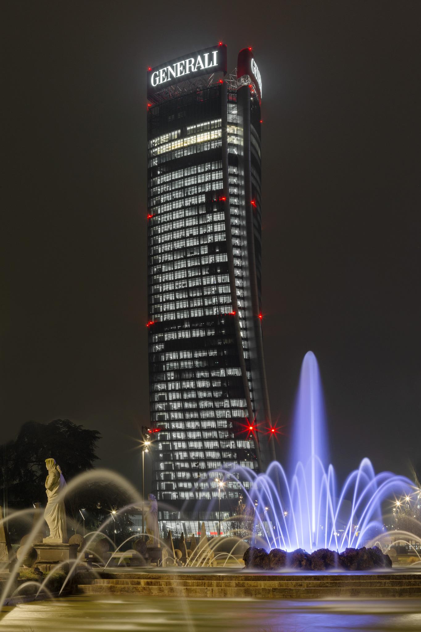 Torre Generali (Hadid). ©2019 Alessandro Businaro