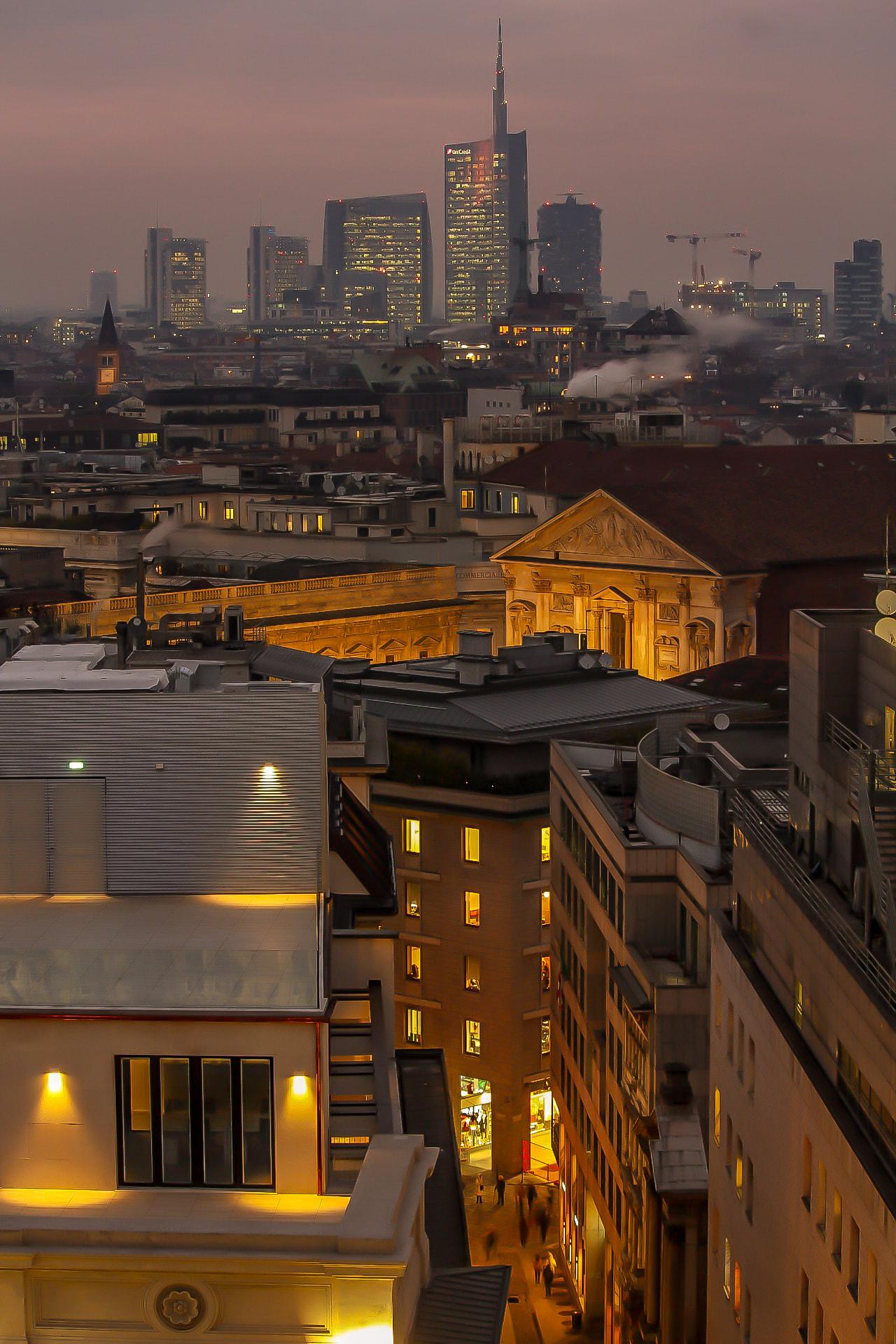 Skyline di Miilano visto dal Duomo - ©2020 Alessandro Barberio