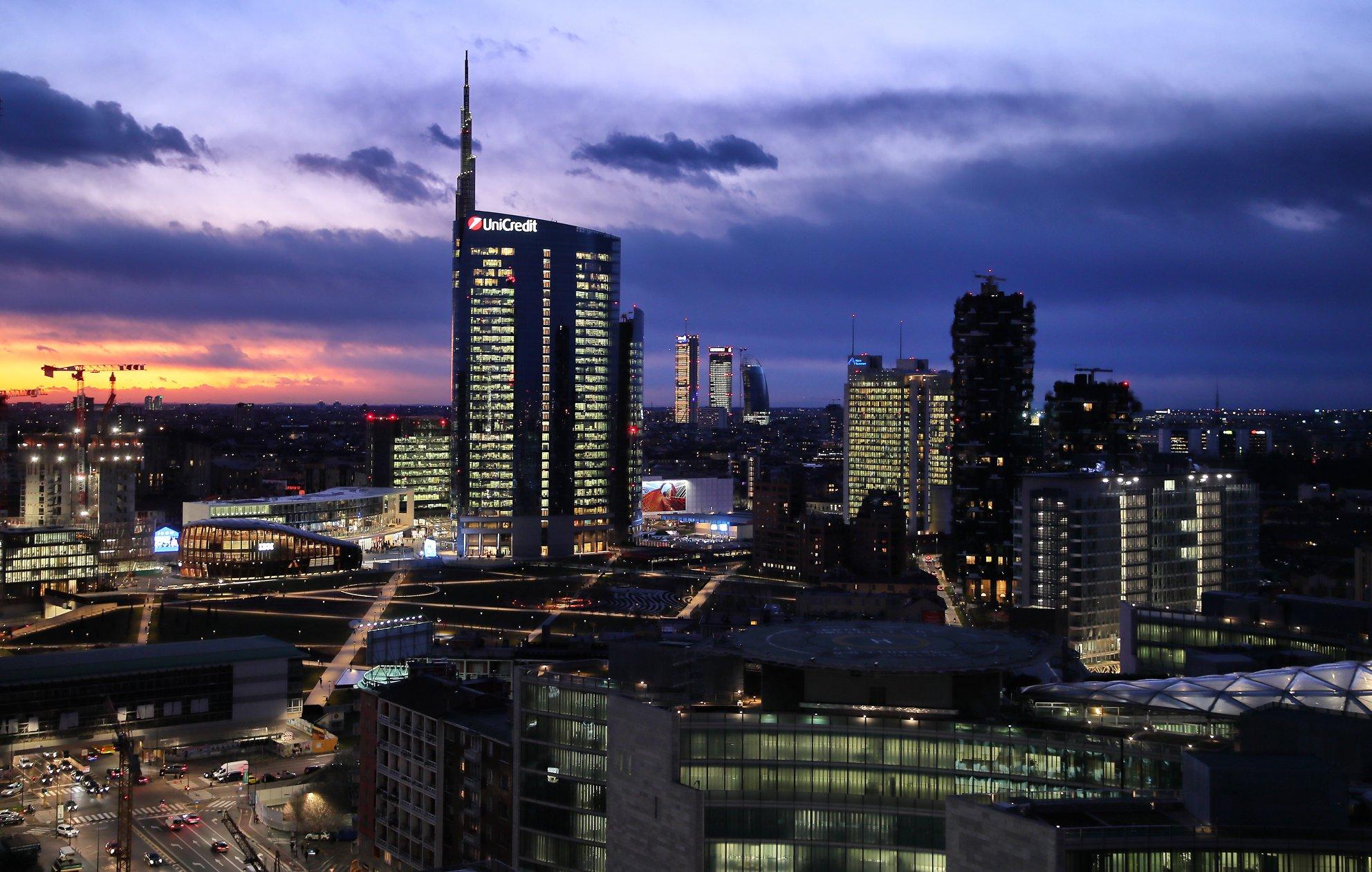 Skyline di Miilano visto da torre GalFa - ©2020 Andrea Cherchi