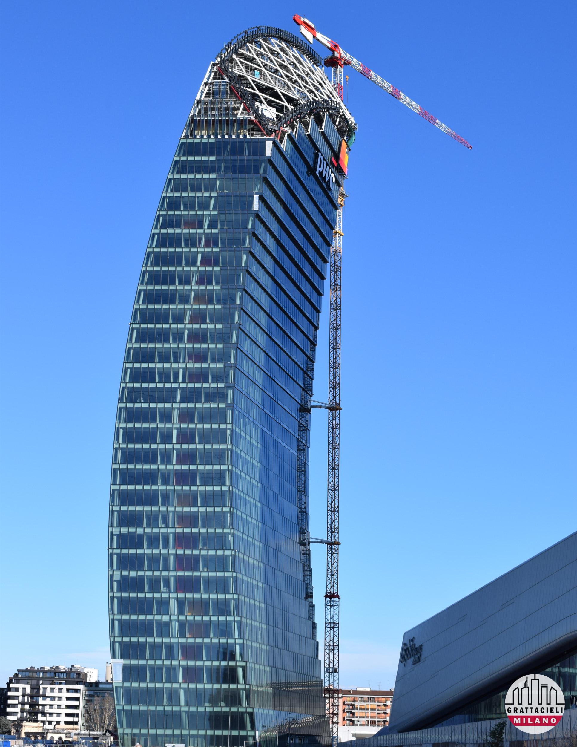 PwC Tower (Marzo 2020). Photo by Demetrio Rizzo