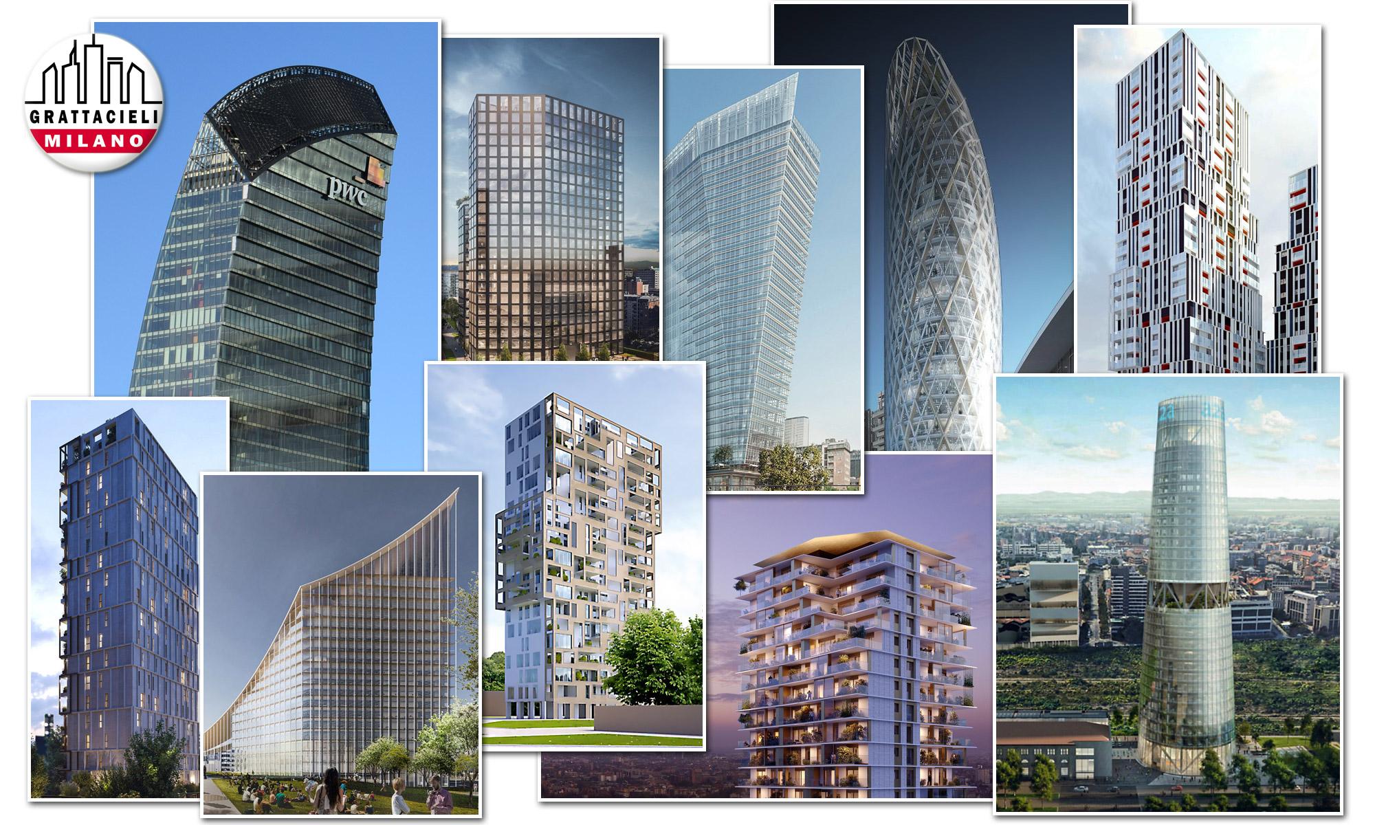 Milano 2020 2023 Tutti I Nuovi Grattacieli In Arrivo Grattacieli Milano