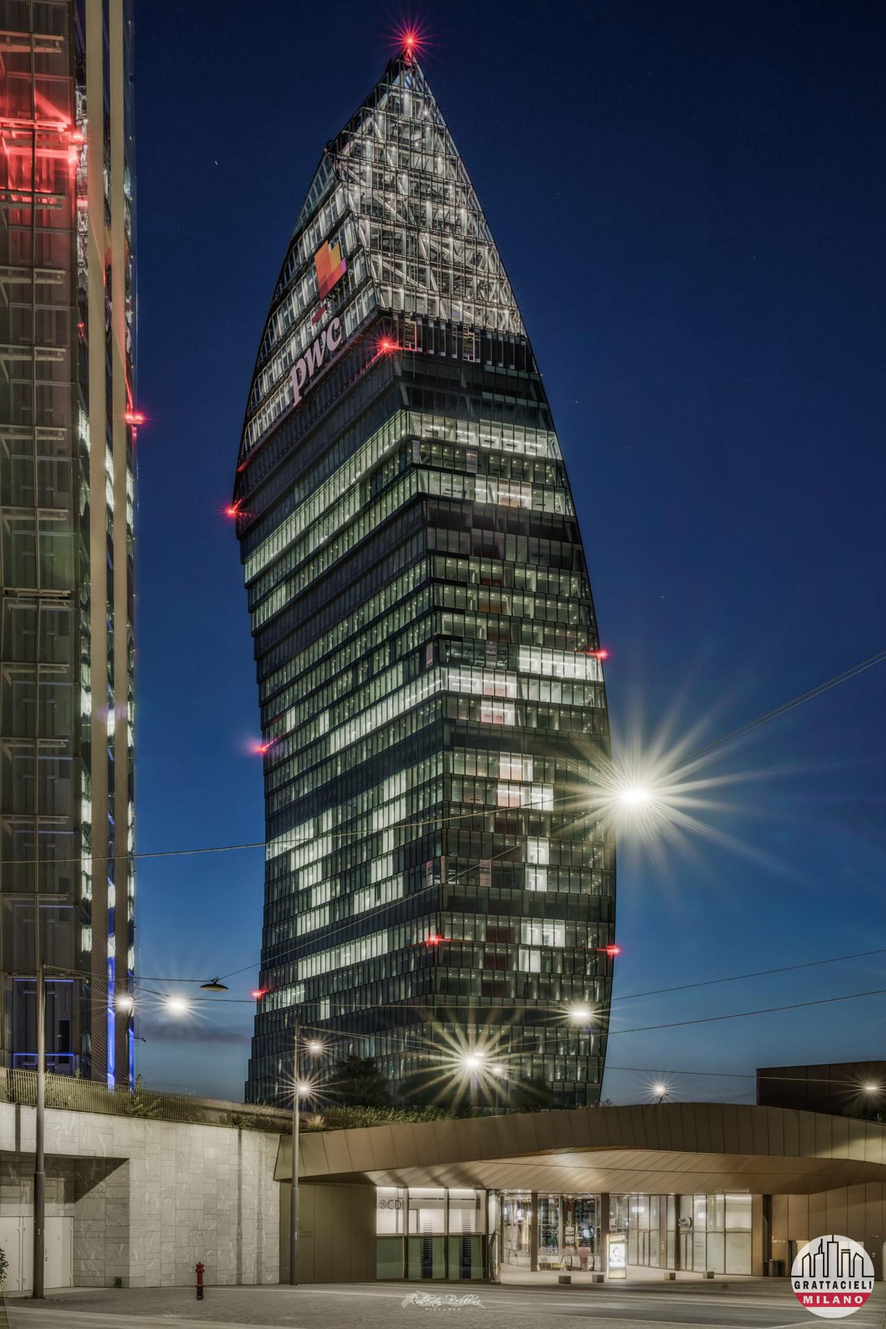 PwC Tower (luglio 2020). Photo by Roberto Bellini