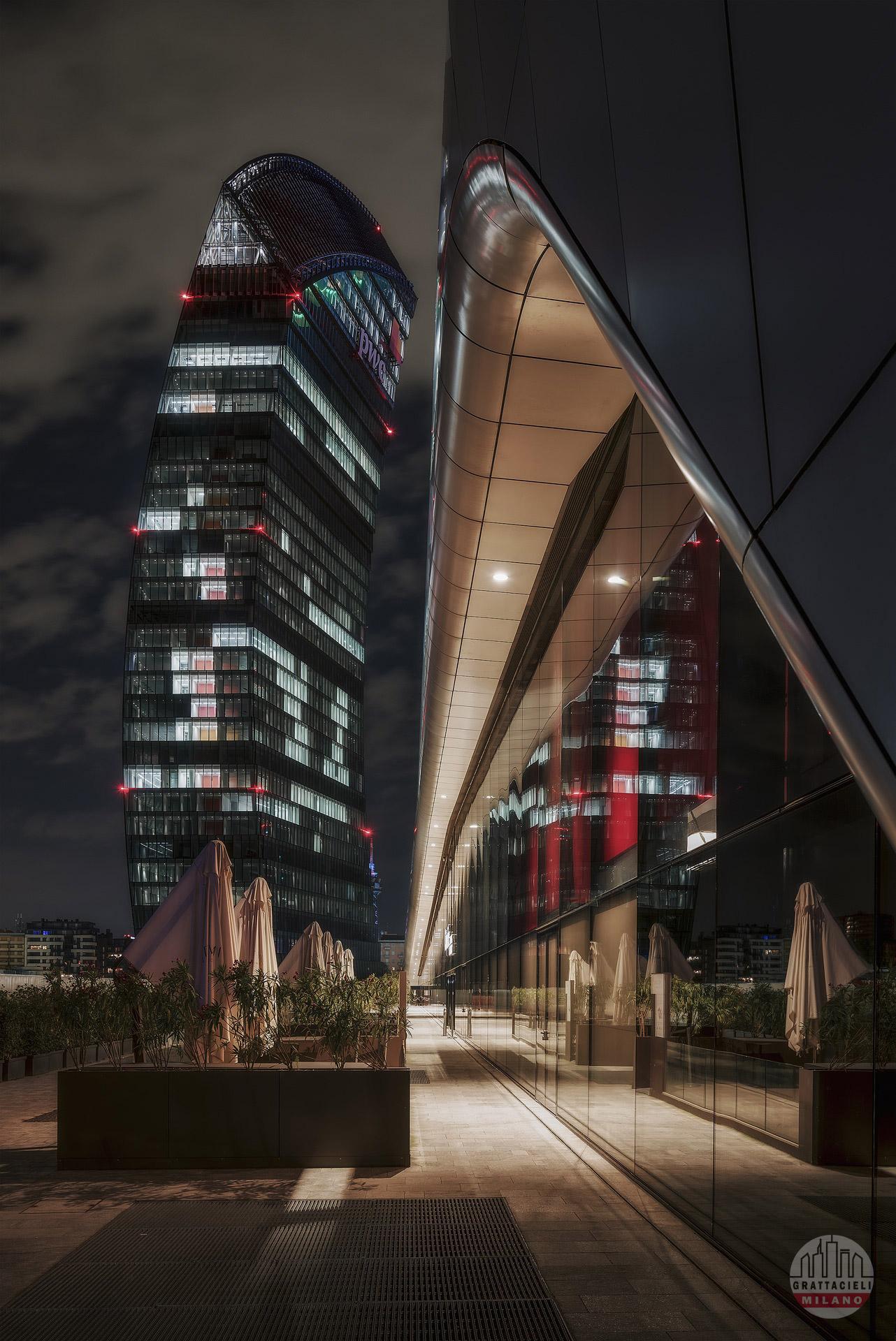 PwC Tower (luglio 2020). Photo by Nino Ferrante