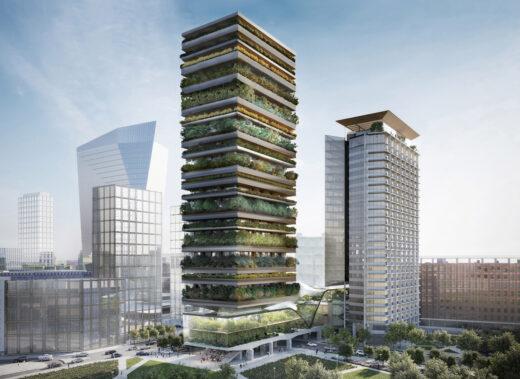 Torre Botanica Milano - Stefano Boeri Architetti